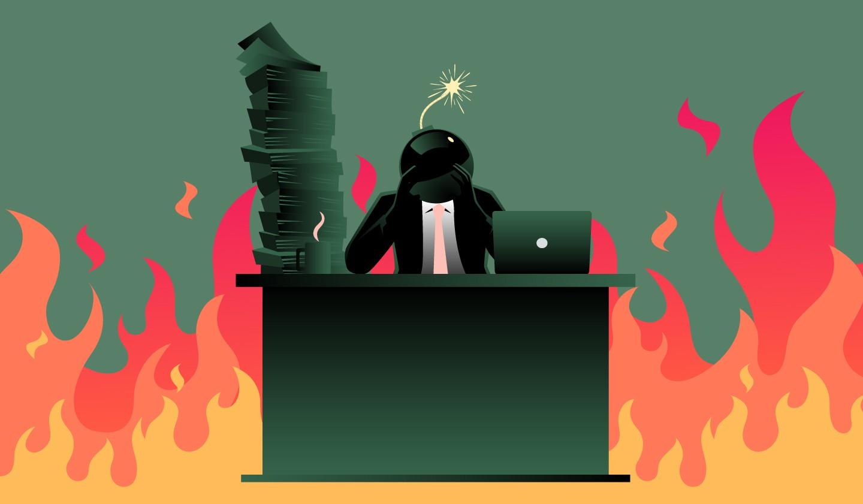Weak Ties: Burnout